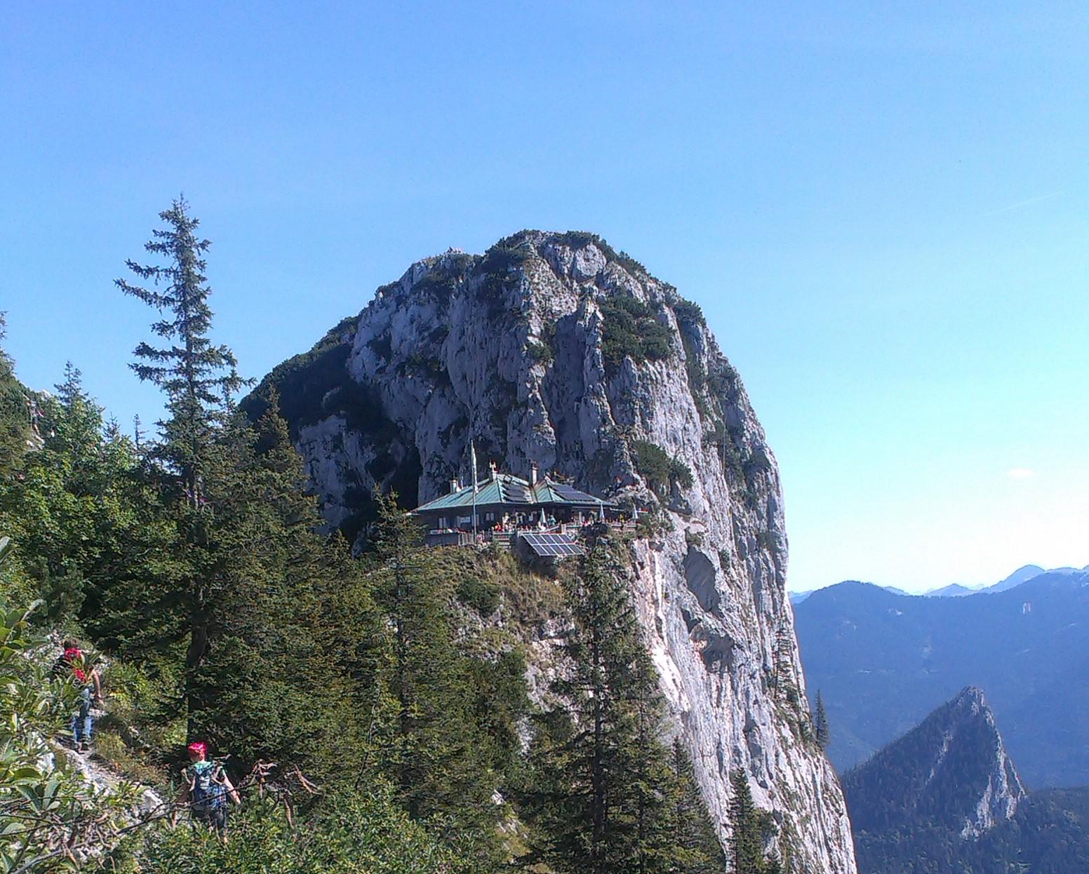 Klettersteig Tegernsee : Mein erster klettersteig der roßstein u solounterwegs